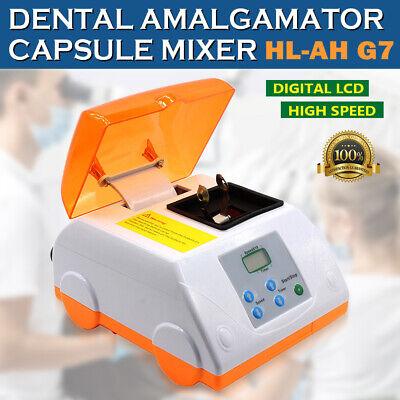 Hl-ah G7 Dental Amalgam Capsule Mixer High Speed Electric Amalgamator 110v Lcd