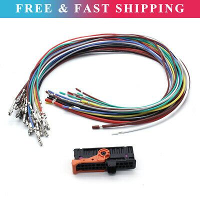 Door Cable Wiring Harness Loom Connector Kit For Seat Alhambra Golf V VI