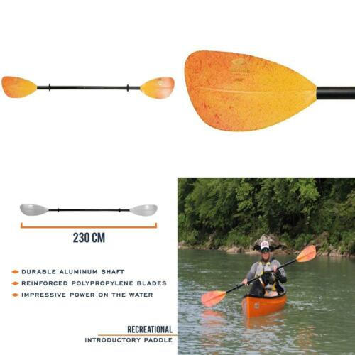 Carlisle Magic Mystic Poly Kayak Paddle - Polypro Blades/Alu