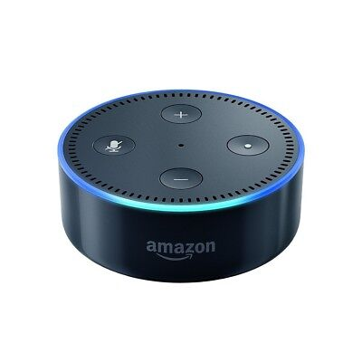 AMAZON ECHO DOT (2nd Generation) WITH ALEXA SMART ASSISTANT BLACK NEW SEALED