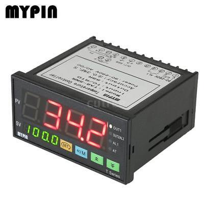 Intelligent Temperaturregler Dual 4 Digital Anzeige ℃ / ℉ Thermostat PID