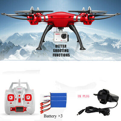 Syma X8HG RC Drone 8MP HD Camera 720P Video Quadcopter 4GB Card 360 Roll Stunt