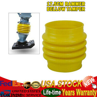 Jumping Jack Bellows Boot 17.5cm Dia.fit Wacker Rammer Compactor Tamper Yellow