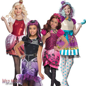 Fancy dress costume girls monster ever after high kids fairytale outfit ebay - Tenue monster high ...
