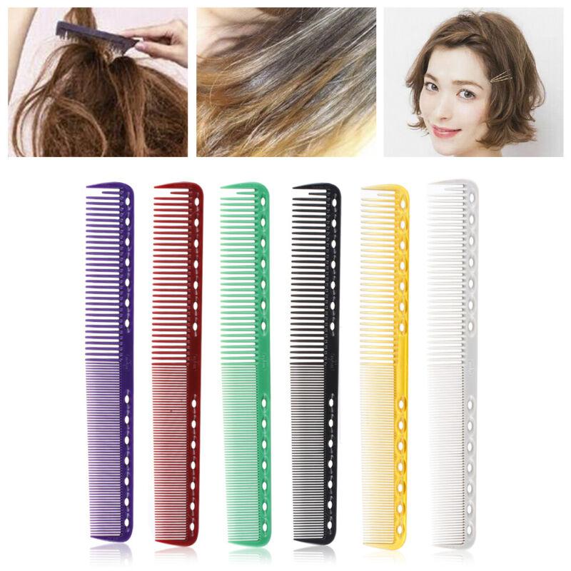 Salon Flattop Hair Cutting Comb Carbon Anti-static Detangle