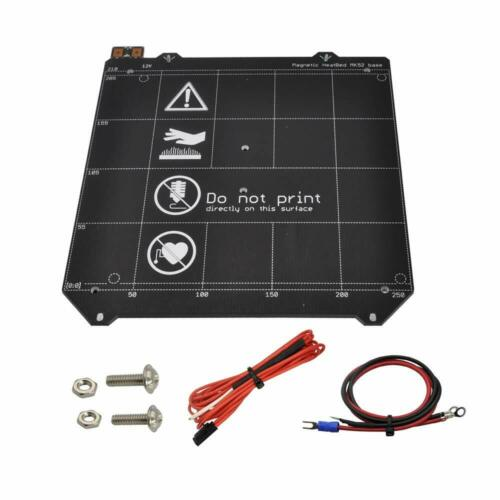 12V Magnetic Heatbed MK52 Base Heated bed w/ cables for Prusa I3 MK3 3D printer