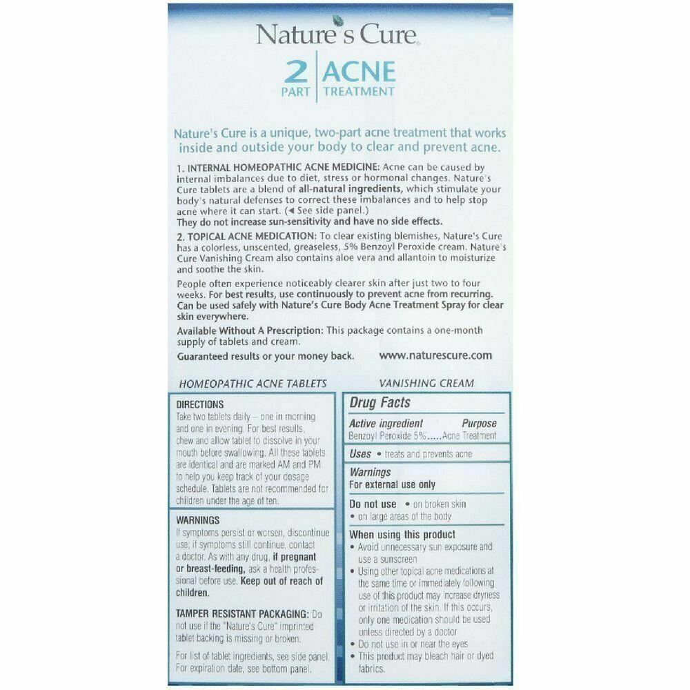 Tratamiento De Hombres Para Quitar El Acne Combinacion Potente Crema Y Pastillas 1