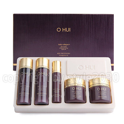 [OHUI] Age Recovery 5 items Travel Kit Anti-Wrinkle Anti-Aging Newest O HUI Anti Aging Travel Kit