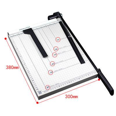 Paper Cutter 15 B4 Metal Base Trimmers Scrapbooking Guillotine Blade Office Art