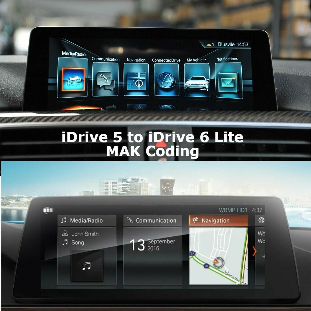 BMW iDrive 5 to iDrive 6 Lite Coding - Remote Coding, Video In Motion,  Carplay | in Bradford, West Yorkshire | Gumtree