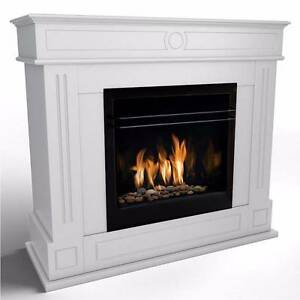 AZTEC Bio Ethanol Fireplace - WHITE Seven Hills Blacktown Area Preview