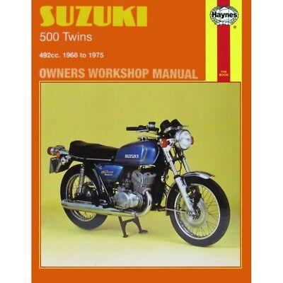 Haynes Workshop Service Manual Suzuki T500/GT500A 1968-1975