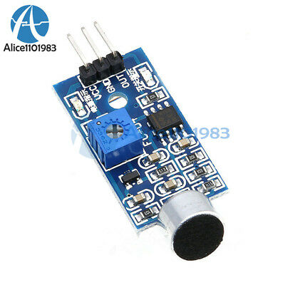 Microphone Sensor High Sensitivity Sound Detecte Voice Switch Module For Arduino