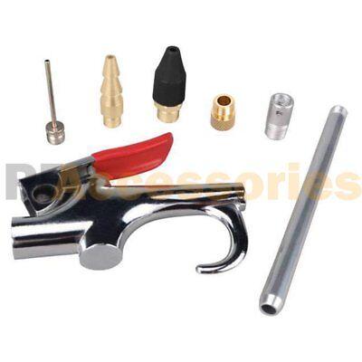 7 Pcs Air Compressor Blow Gun Nozzle Tip Needle Inflation Blower Accessory Kit