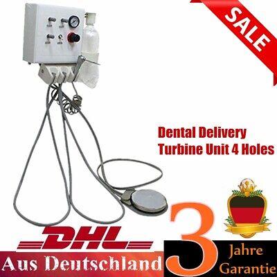 Portable Wall-Mount Dental Turbine Unit 4H Turbineneinheit  Work w/ Compressor