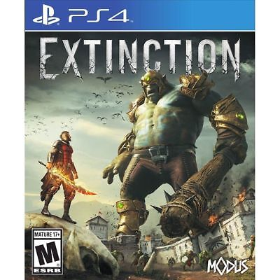 Extinction (PS4, 2018) Brand New Factory Sealed