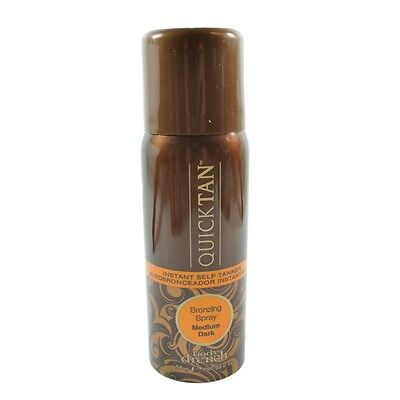 Body Drench Quicktan Quick Tan Bronzing Spray Medium Dark 56g 2 oz Travel Size