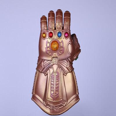 Avengers Infinity War Infinity Gauntlet Cosplay Thanos Gloves Halloween Props