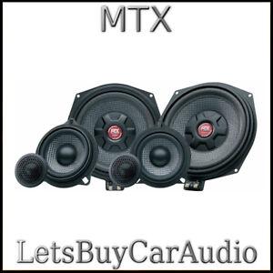 NEW MTX TX6.BMW 3-WAY COMPONENT SPEAKER UPGRADE BMW E & F SERIES, MINI, X3, X5