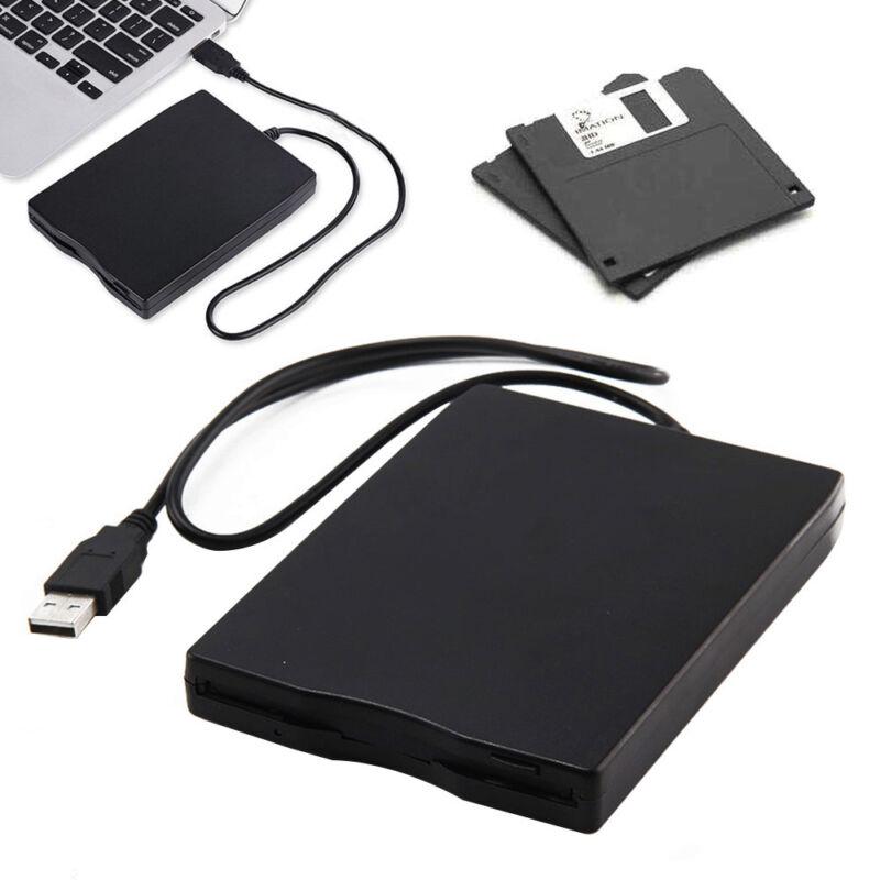 USB Diskettenlaufwerk extern Floppy Drive Disk FDD 3,5 Zoll Windows plug&play