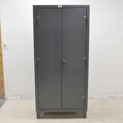 Strong Hold 36-bb-240 All-bin Heavy Duty Gray 36 X 24 X 72 Storage Cabinet