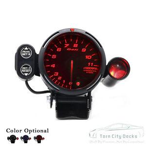 defi tachometer ebay diesel rpm gauge wiring diagram defi link meter bf tachometer gauge 80mm red universal fit toyota holden etc