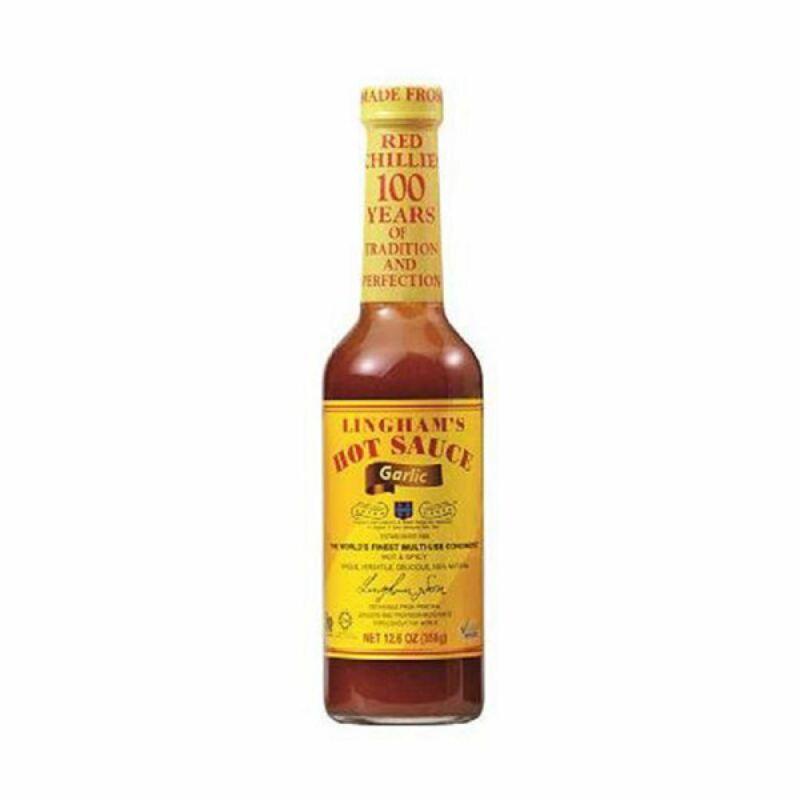 Lingham - Garlic & Chilli Sauce - 358g - (pack of 3)