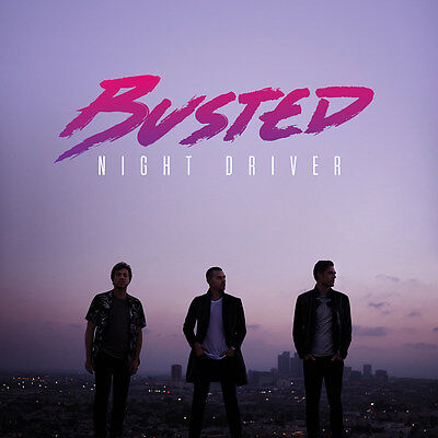 Busted - Night Driver - Vinyl LP Album (Released 25th November 2016) Brand New