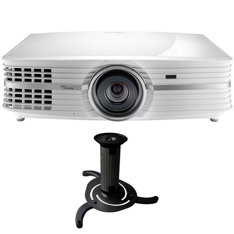 Optoma UHD60 4K DLP Projector with High Dynamic Range White UHD60