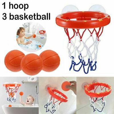 1Set Kids Bath Basketball Hoop Ball Shooting Shower Water Play Game Pool Toys