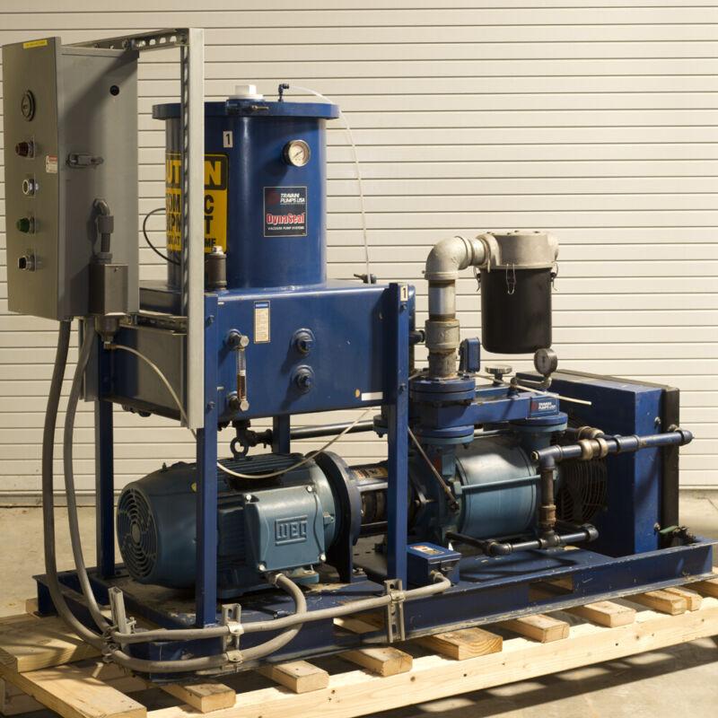 Travaini TR0 300V-2A Liquid Ring Vacuum Pump TESTED GOOD