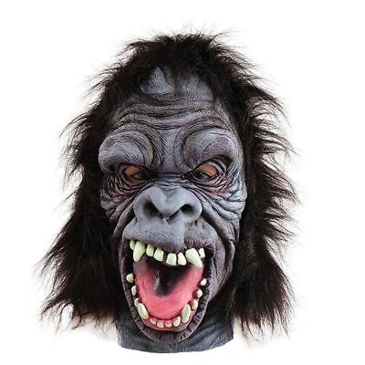 Wild Angry Gorilla Animal halloween Mask (Wild Gorilla Kostüme)