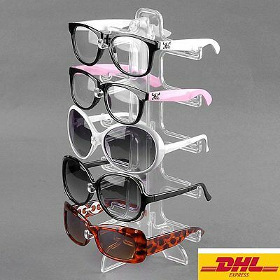Brillenständer Brillenaufsteller Brillenhalter Brillendisplay f. 5 Brillen DHL L