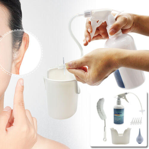 US HOT Ear Wax Cleaner Earwax Removal Kit Earwax Cleaning To