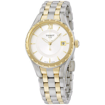 Tissot Women's TIST0722102203800 T-Lady Analog Display Swiss Quartz Watch