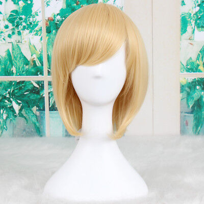 He Man Wig (He-Man and the Masters of the Universe short Blonde cosplay wig +a wig)