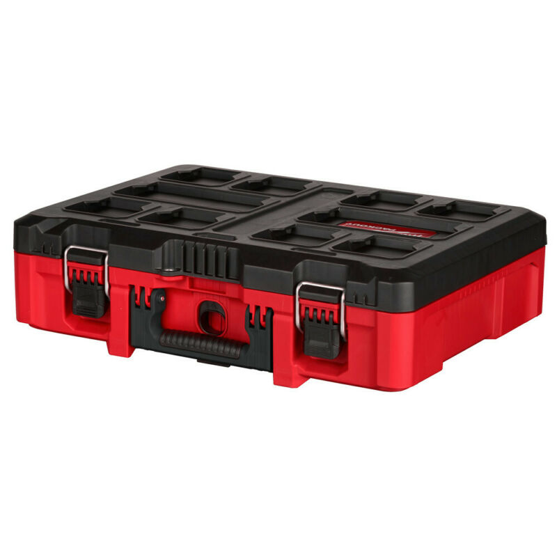 Milwaukee 48-22-8450 PACKOUT Tool Case w/ Customizable Insert New