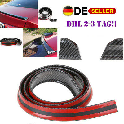 2.5M Universal Tuning Frontspoiler, Selbstklebend Frontspoilerlippe Spoiler dhl
