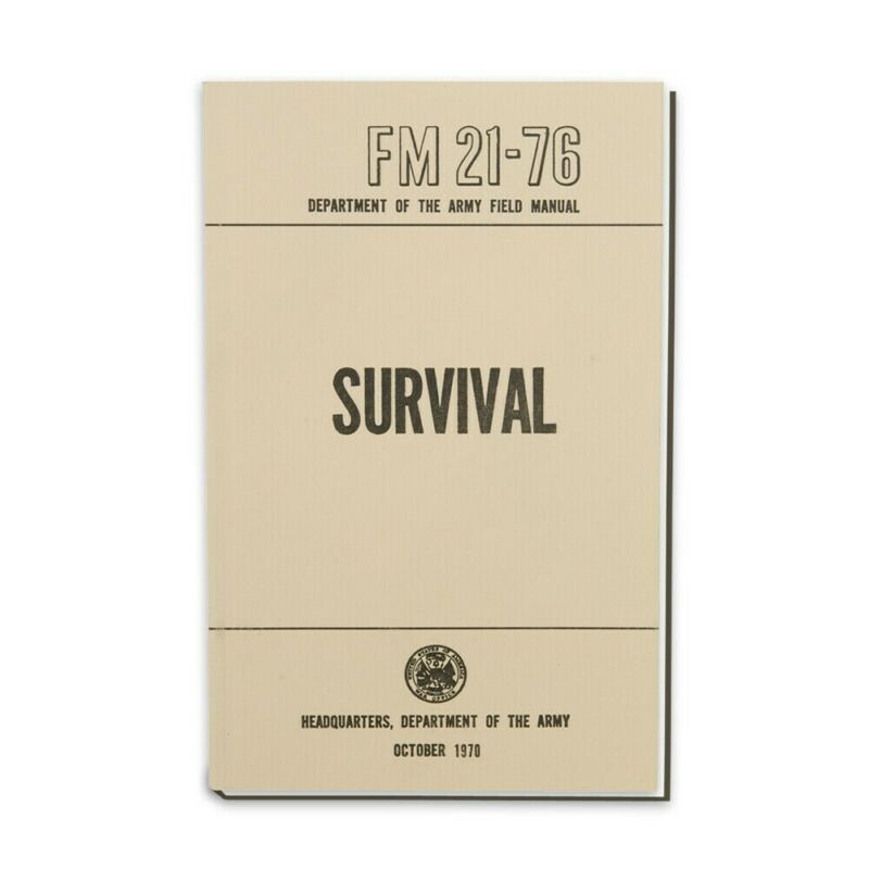 U. S. Army Survival Manual FM 21-76 285 Pages New