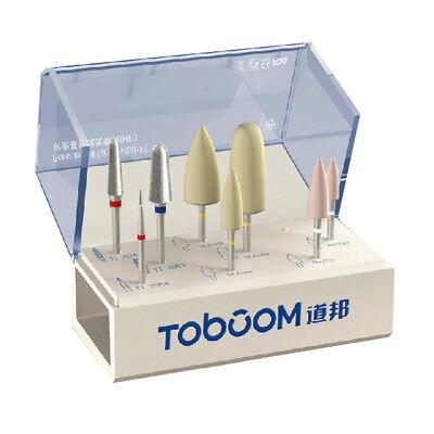 8pcs1kit Dental High Gloss Polishing Kit For Acrylic Hp0308d Joy