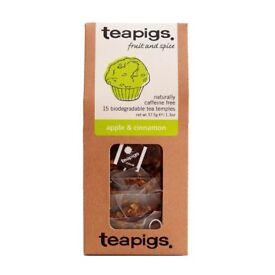 Teapigs Apple and Cinnamon Tea Temples - 15 Bags