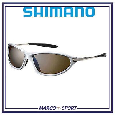 Occhiali da sole polarizzati per uomo pesca mosca e spinning mare trota Shimano
