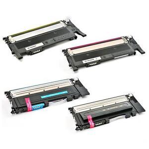 New Compatible Color Toners for Samsung CLT-406S 406 color toner  fit CLP-365 CLX-3305FW Xpress SL-C410W C460 $38.00
