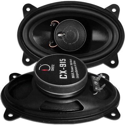 "Dietz CX-915 9 x 15 cm Car Fit Coax oval Lautsprecher ( 4x6 "")"