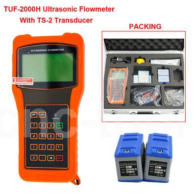 Tuf-2000h Portable Ultrasonic Flow Meter Flowmeter Ts-2 Transducer Dn15-dn100mm