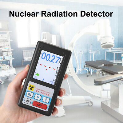 Portable Geiger Counter Nuclear Radiation Detector Beta Gamma X-ray Tester