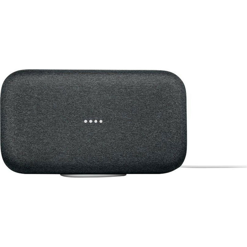 Google Home Max Speaker Smart Wifi Assistant - Charcoal - (GA00223-US)