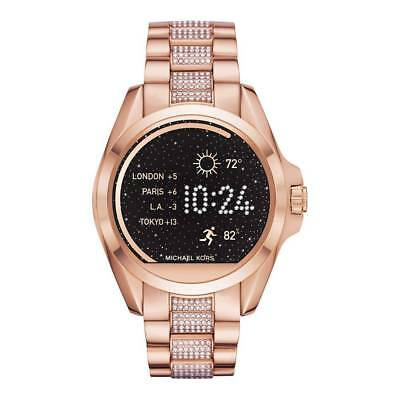 Display Michael Kors Womens Rose Gold Access Bradshaw Smart Watch MKT5018