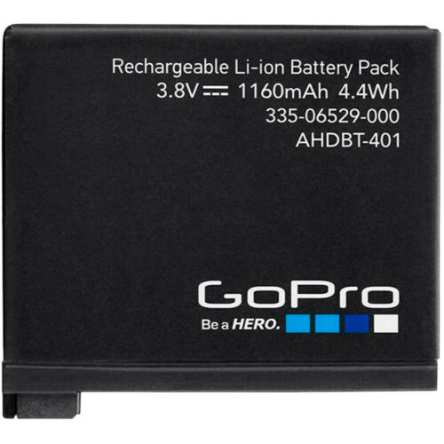 GoPro AHDBT-401 Rechargeable Battery for Hero 4 Brand New