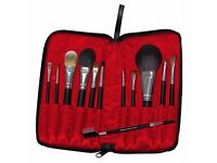 Royal & Langnickel Silk Pro 12-Piece Professional 13-Piece Travel Cosmetic Brush Set - NEW